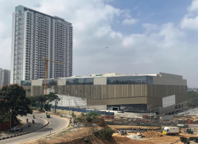 UAE based lulu grouP as a Part oF Its InvestMent Plans oF $300 MIllIon In karnataka In the retaIl, logIstIcs and hosPItalIty sectors has acquIred an under-develoPMent Mall In Bangalore